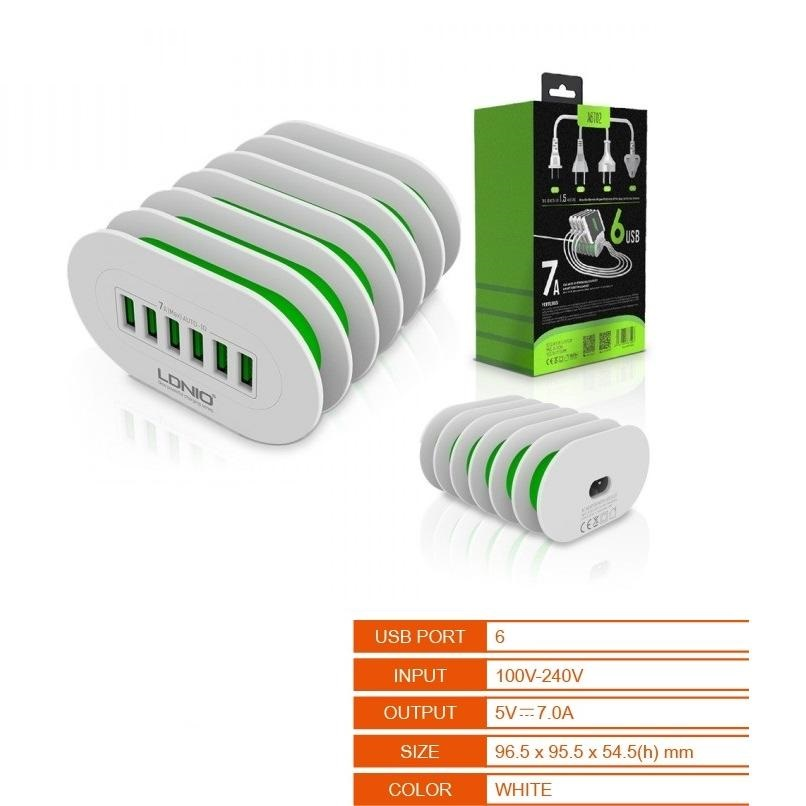 USB DSK CHARGER - 6P 7.0A