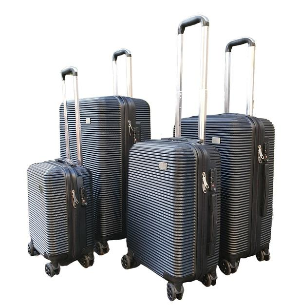 4-IN-1 LUGGAGE SET - RIBBED