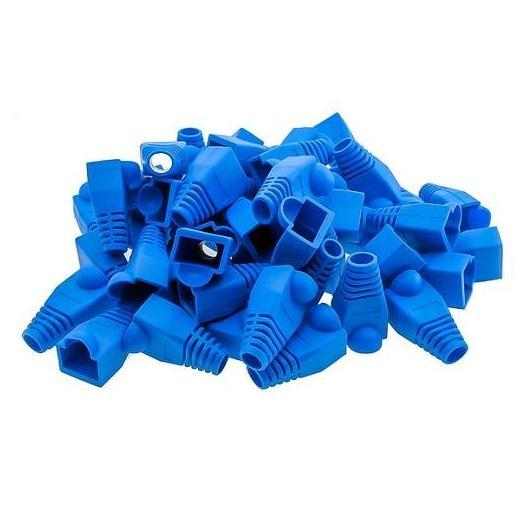 CON: RJ45 BOOTS (100) BLUE