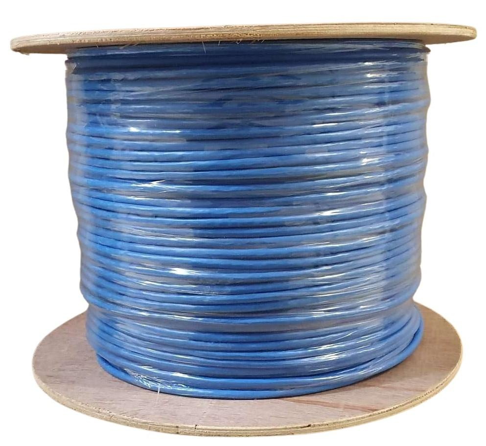 CAB: CAT6A 305M SFTP CCA 10GBPS - BLUE