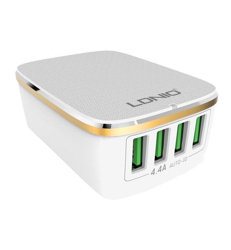 USB WALL CHG - 4P - 5V/4.4A AC