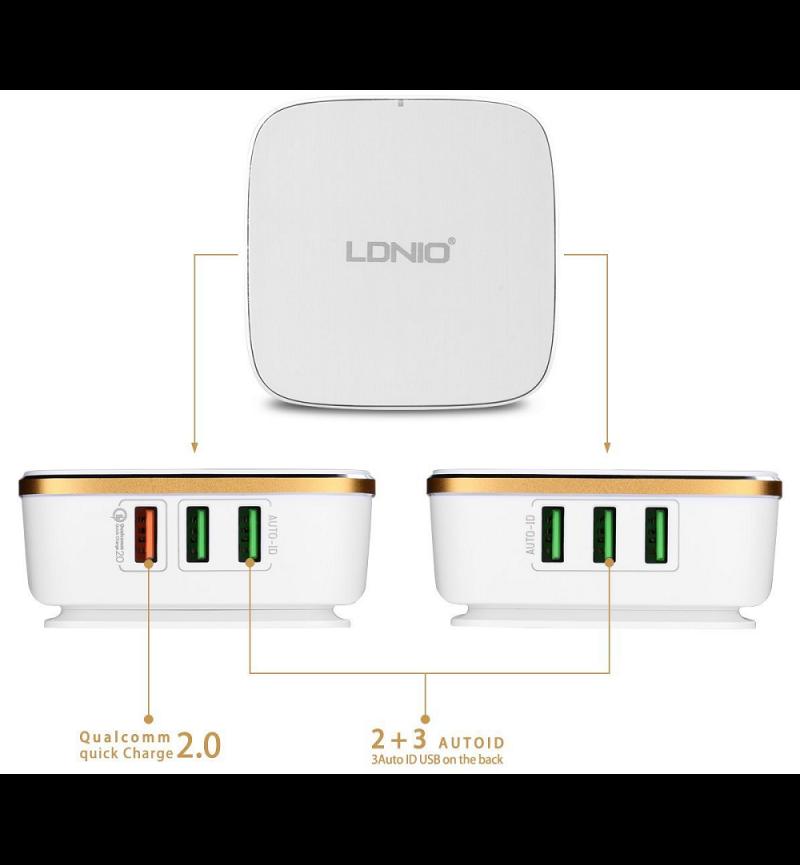 USB QUALCOMM 2.0 - 6P - QUICK CHG