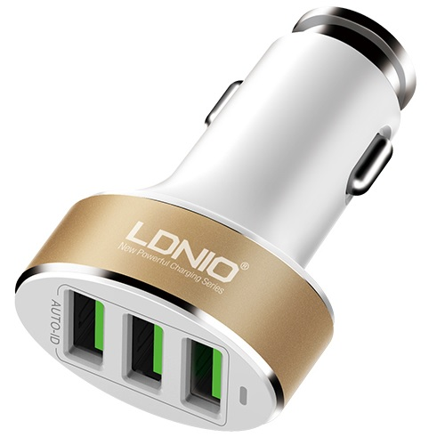 USB CAR CHARGER - 3P