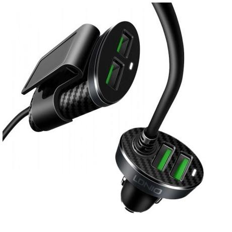 USB CAR CHARGER - 4P 5.1A