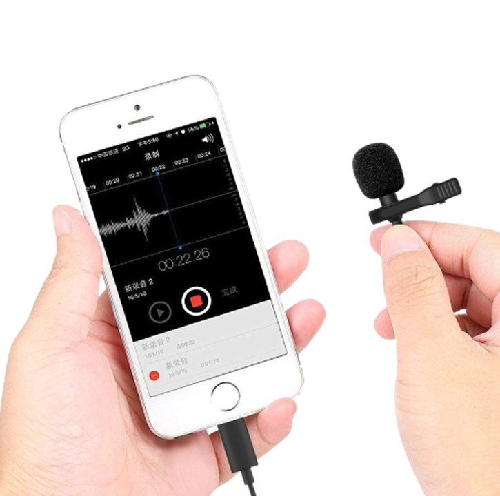 MICROPHONE - STEREO 3.5MM + CLIP
