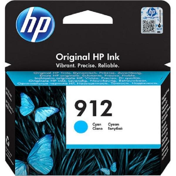 HP912 CYAN INK OFFICEJET PRO 8000