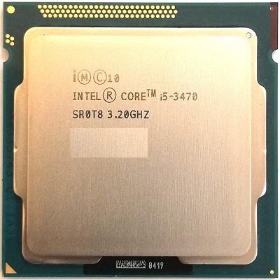 TRAY CPU: I5 3470