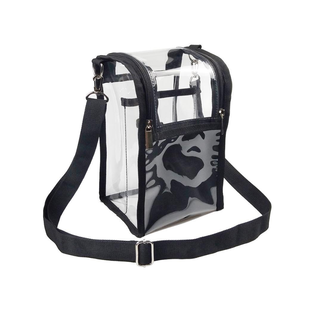 PVC BRUSH BAG - BLACK