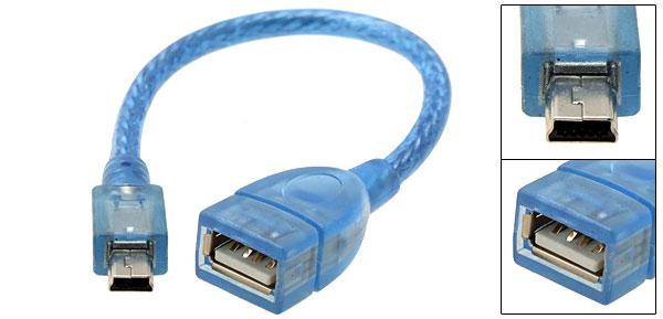 USB (F) TO MINI (M)