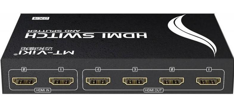 2 IN 4 OUT HDMI SWITCH/SPLITTER