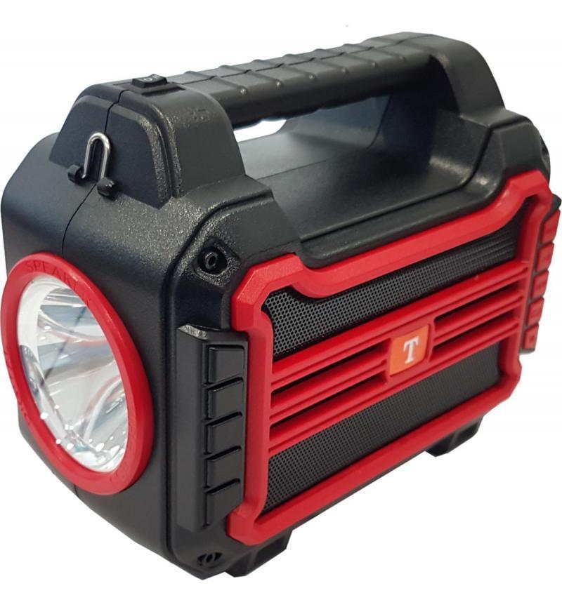BT: SOLAR SPEAKER - RED