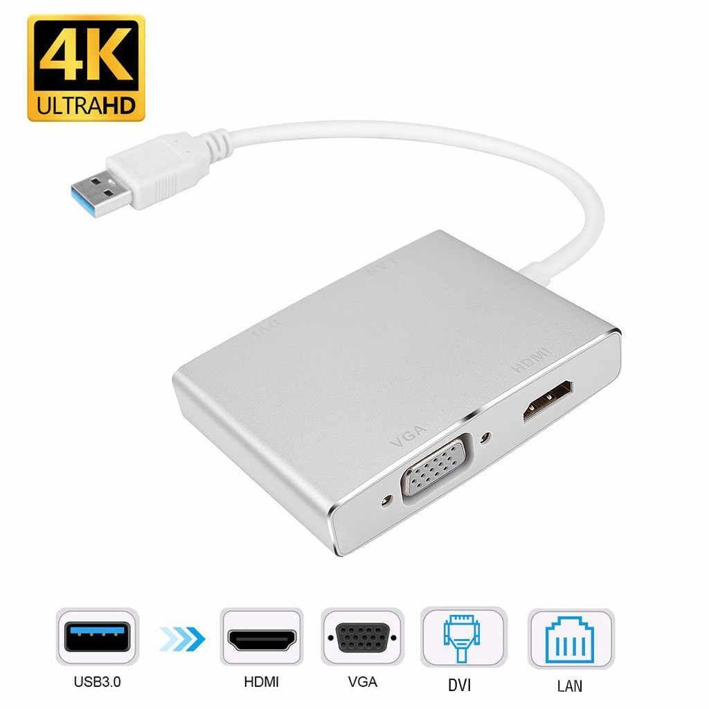 USB3.0 TO LAN/DVI/VGA/HDMI