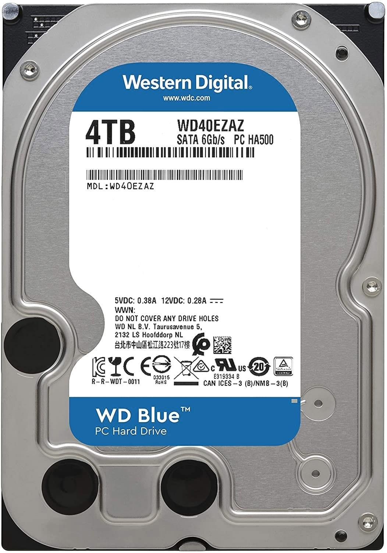 3.5: SATA   4TB BLUE 256MB CACHE