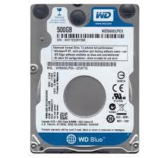 2.5: SATA    500GB BLUE